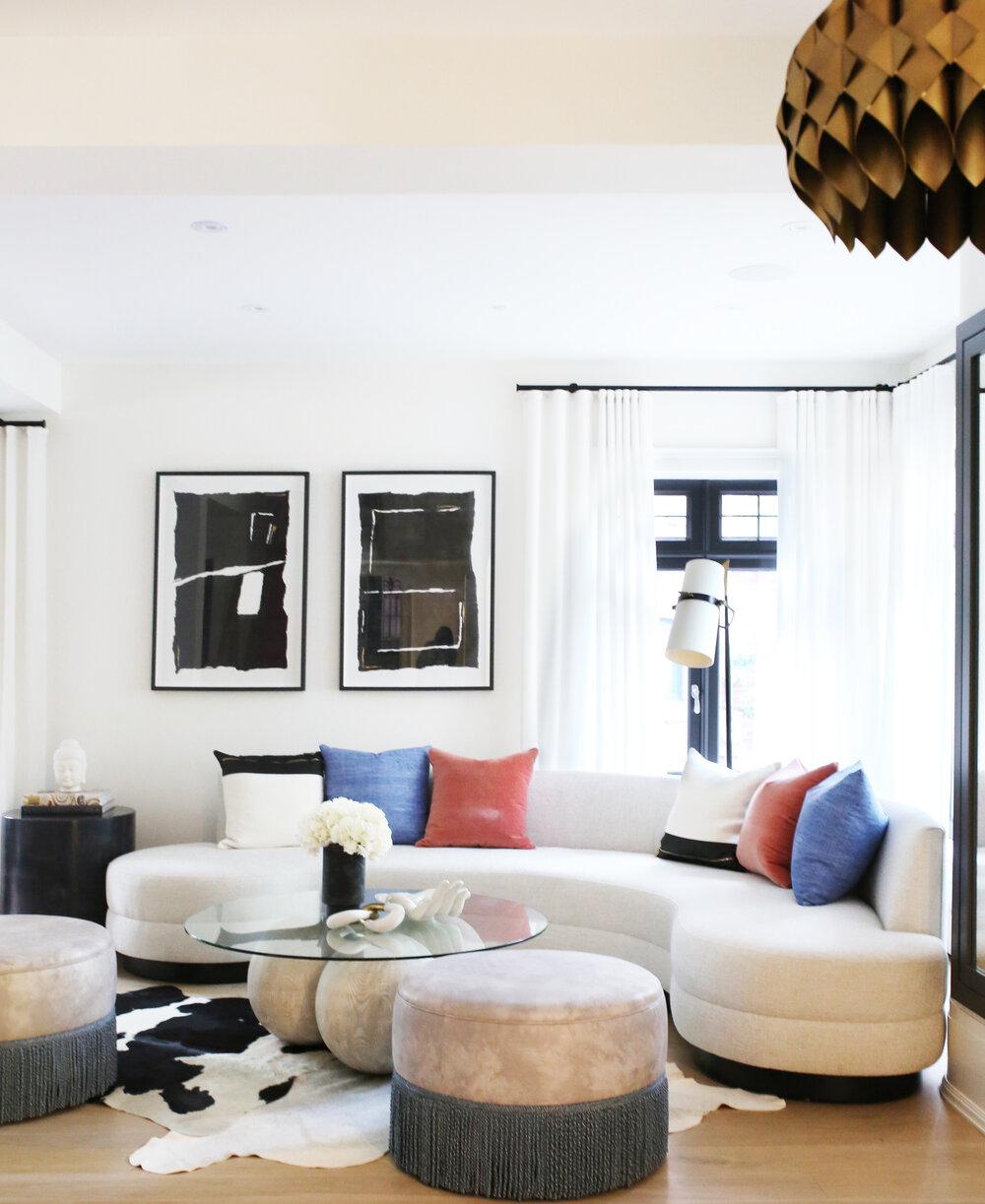 Ali Budd Curved Sofa
