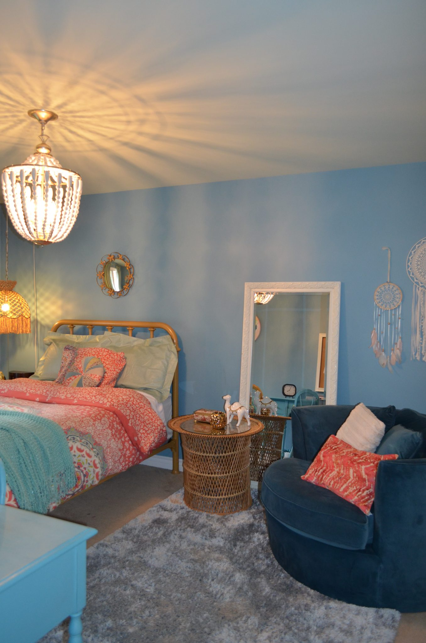 Teen Boho Bedroom 1