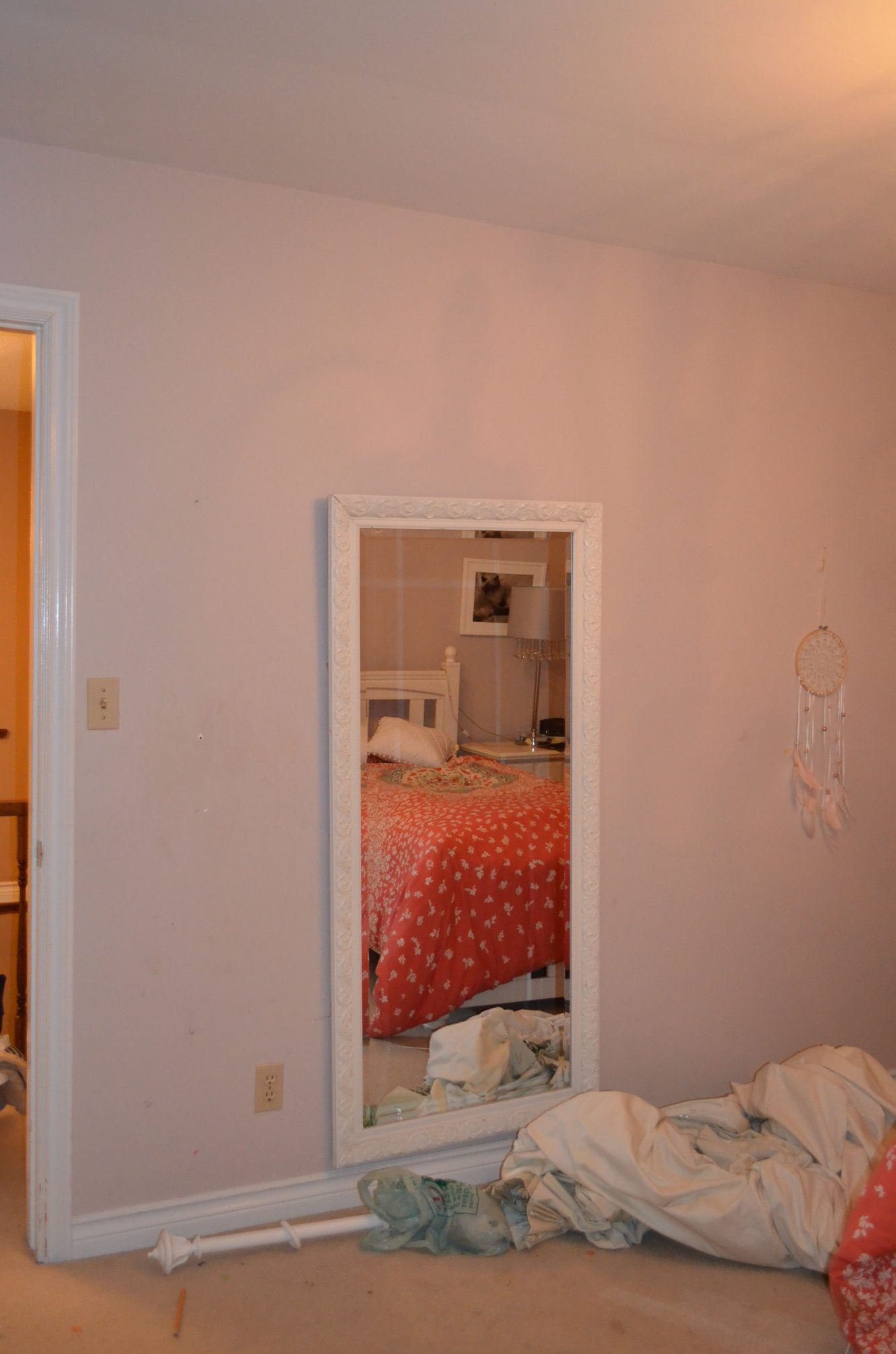 Teen Boho Bedroom Before