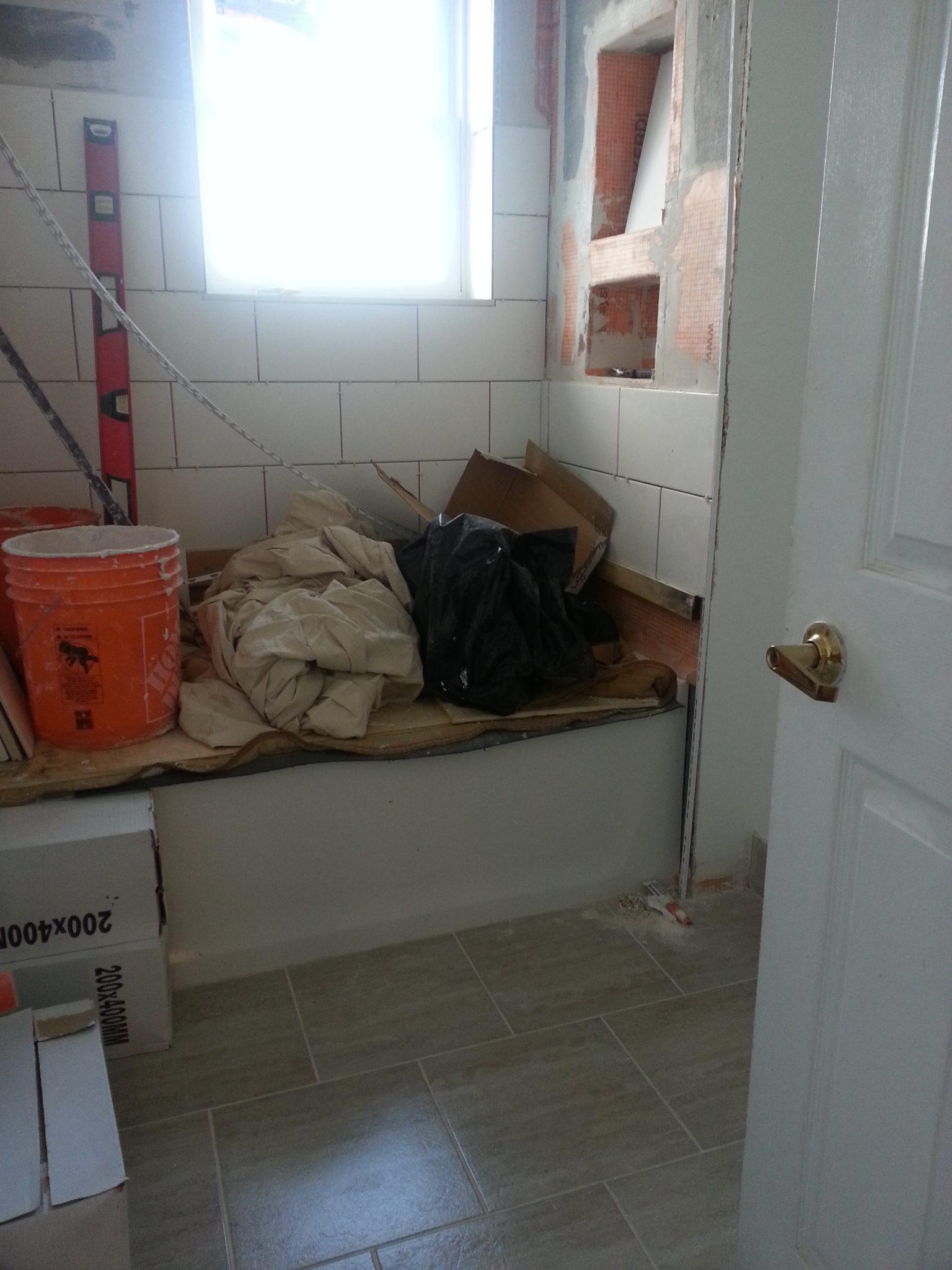 Tiny Bathroom Reno
