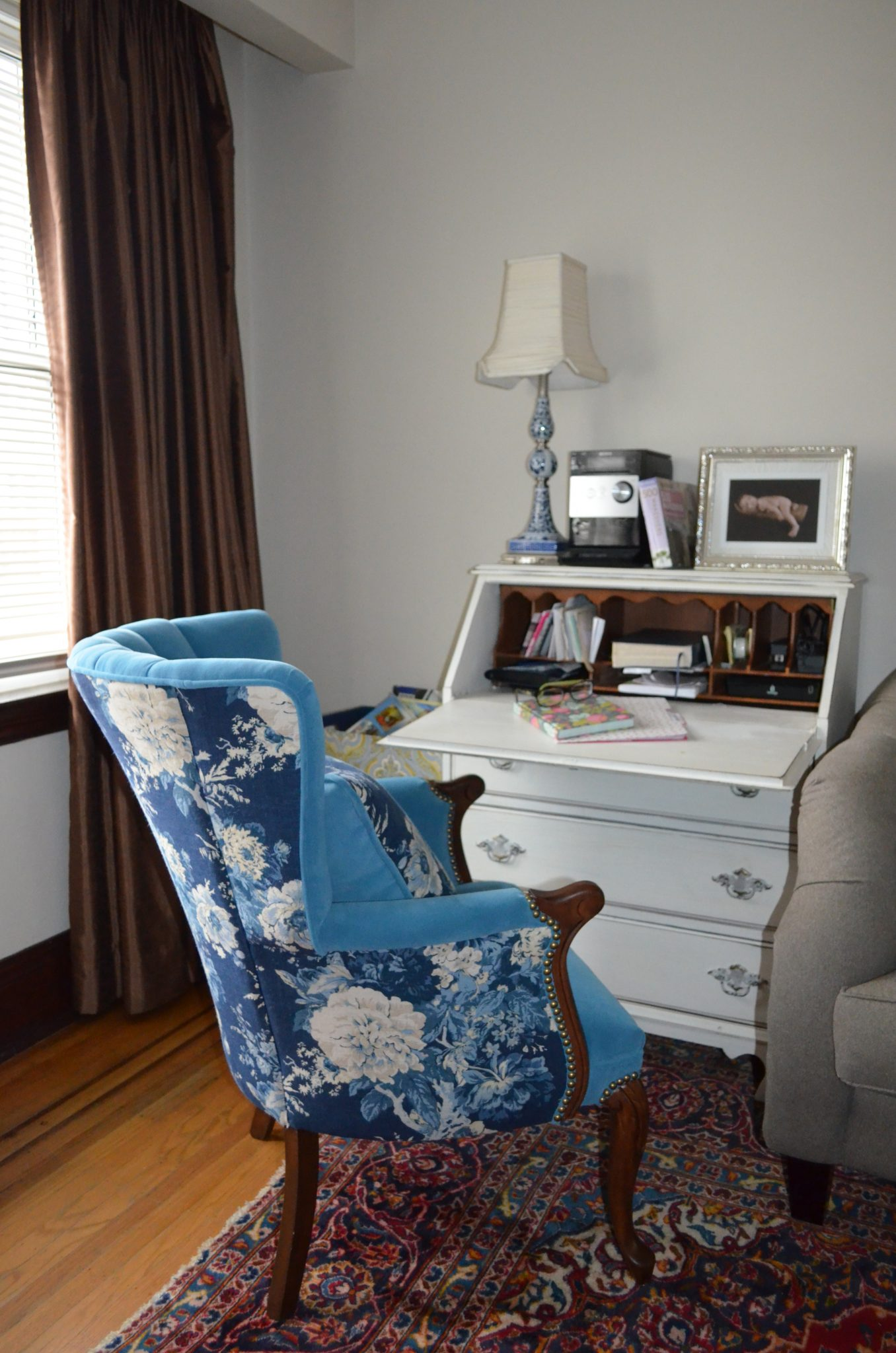 Living Room vintage secretary