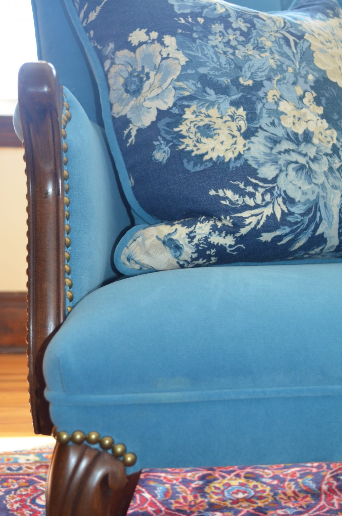 Delightful Chair Reupholstery