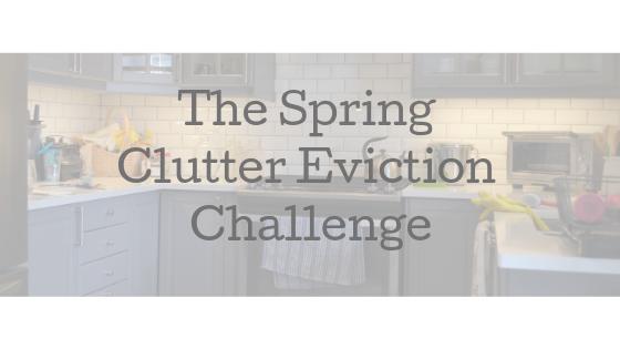 Spring Clutter Challenge