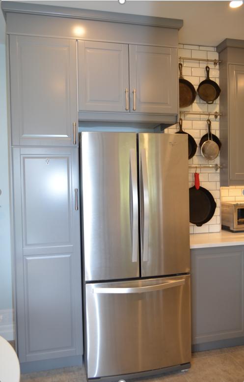 Pantry and Refridgerator Cabinet